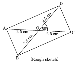 Practical Geometry NCERT Extra Questions for Class 8 Maths Q6