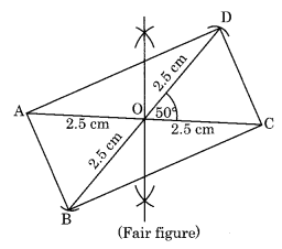 Practical Geometry NCERT Extra Questions for Class 8 Maths Q6.1