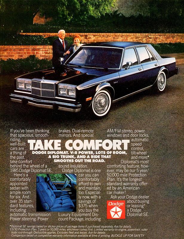 1985 Dodge Diplomat SE
