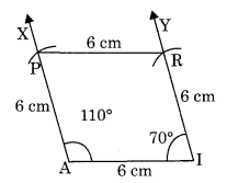 Practical Geometry NCERT Extra Questions for Class 8 Maths Q9