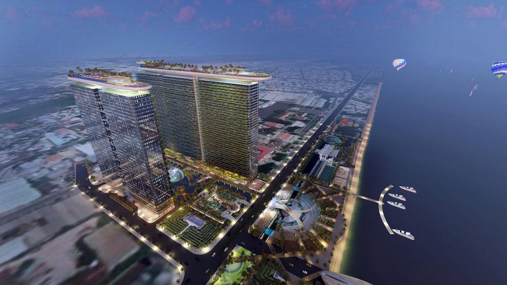Khu resort Marina Nha Trang