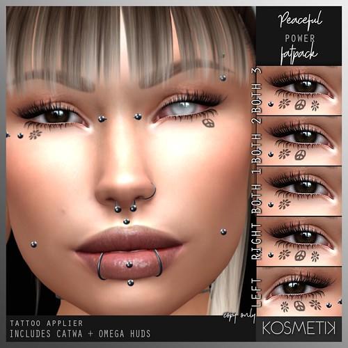 .kosmetik Tattoo Applier - Peaceful Power FATPACK