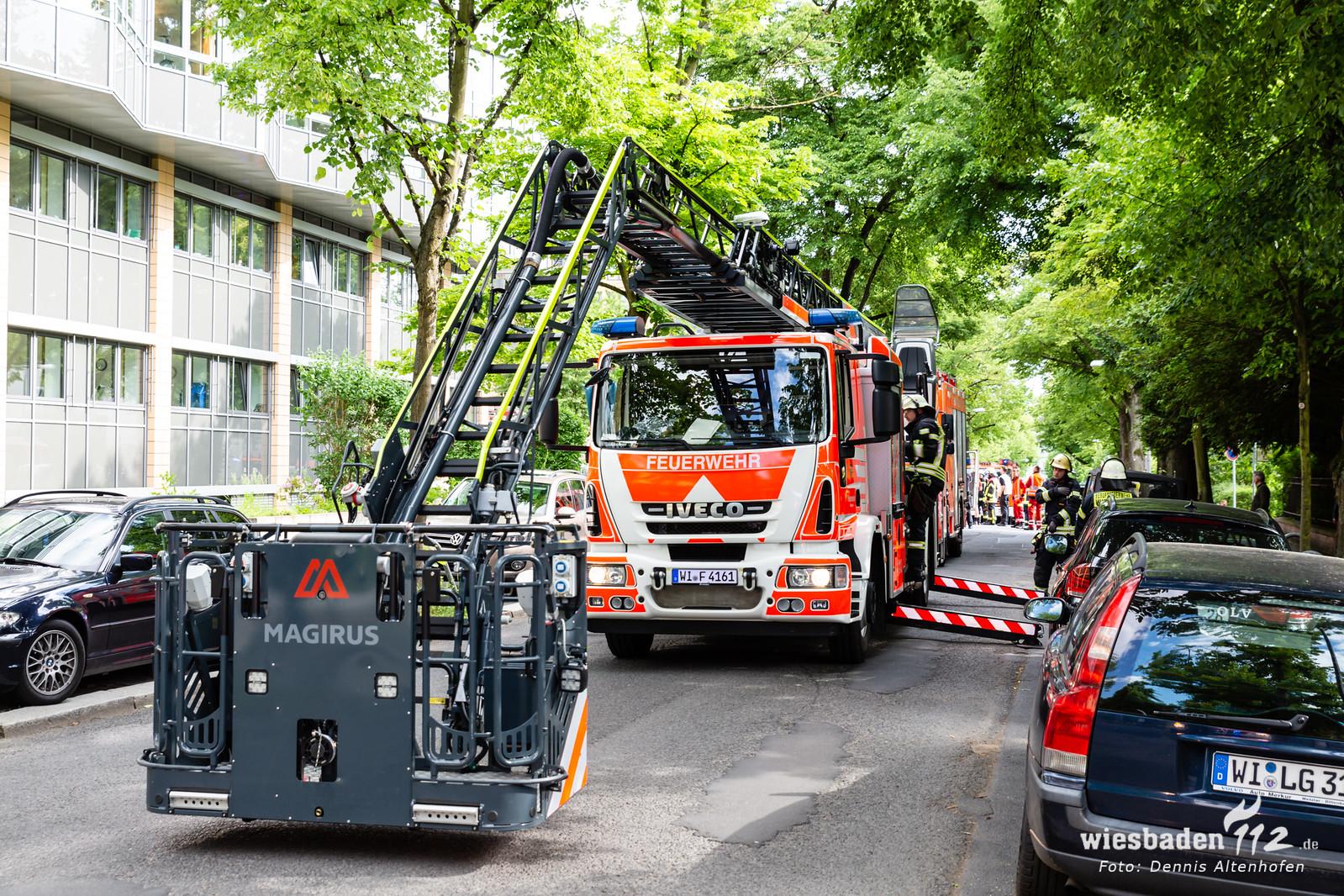Brand im Abstellraum des St. Josefs - Hospital 29.05.19