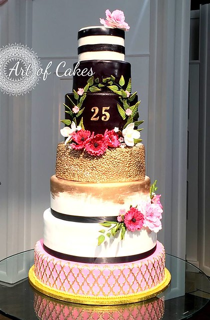 Anniversary Cake for Jewelry Television by Art of Cakes