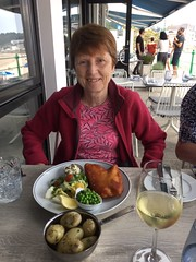 Lunch at the Oyster Box in St Brelade's Bay (1)
