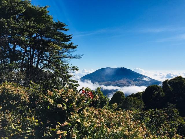 Caminata y Carrera entre Volcanes y Montañas