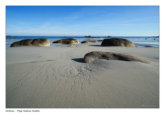 Les rochers du finistère nord