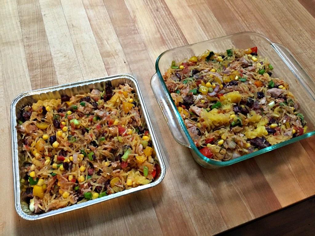 two casseroles