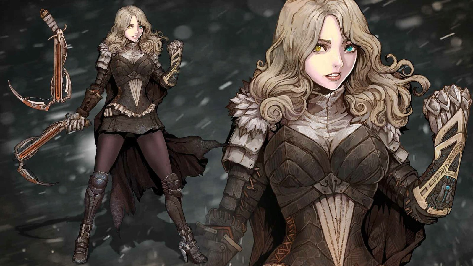 Vambrace Cold Soul - Tights and Ice Picks