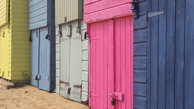 Beach Huts in Broadstairs......