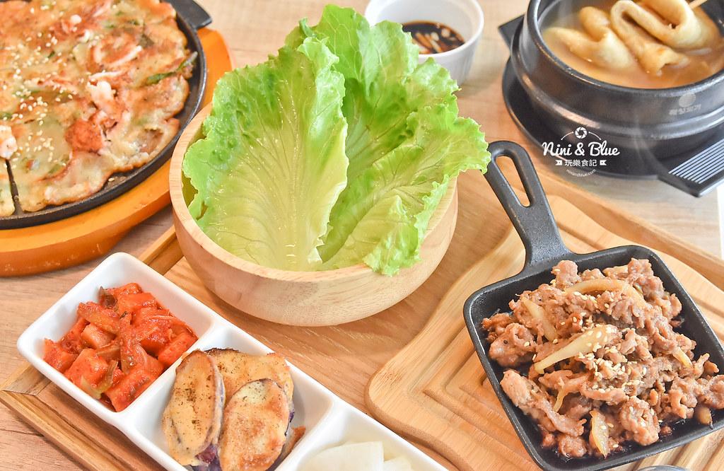 台中高雄美食 瑪希噠 韓式小吃 菜單11