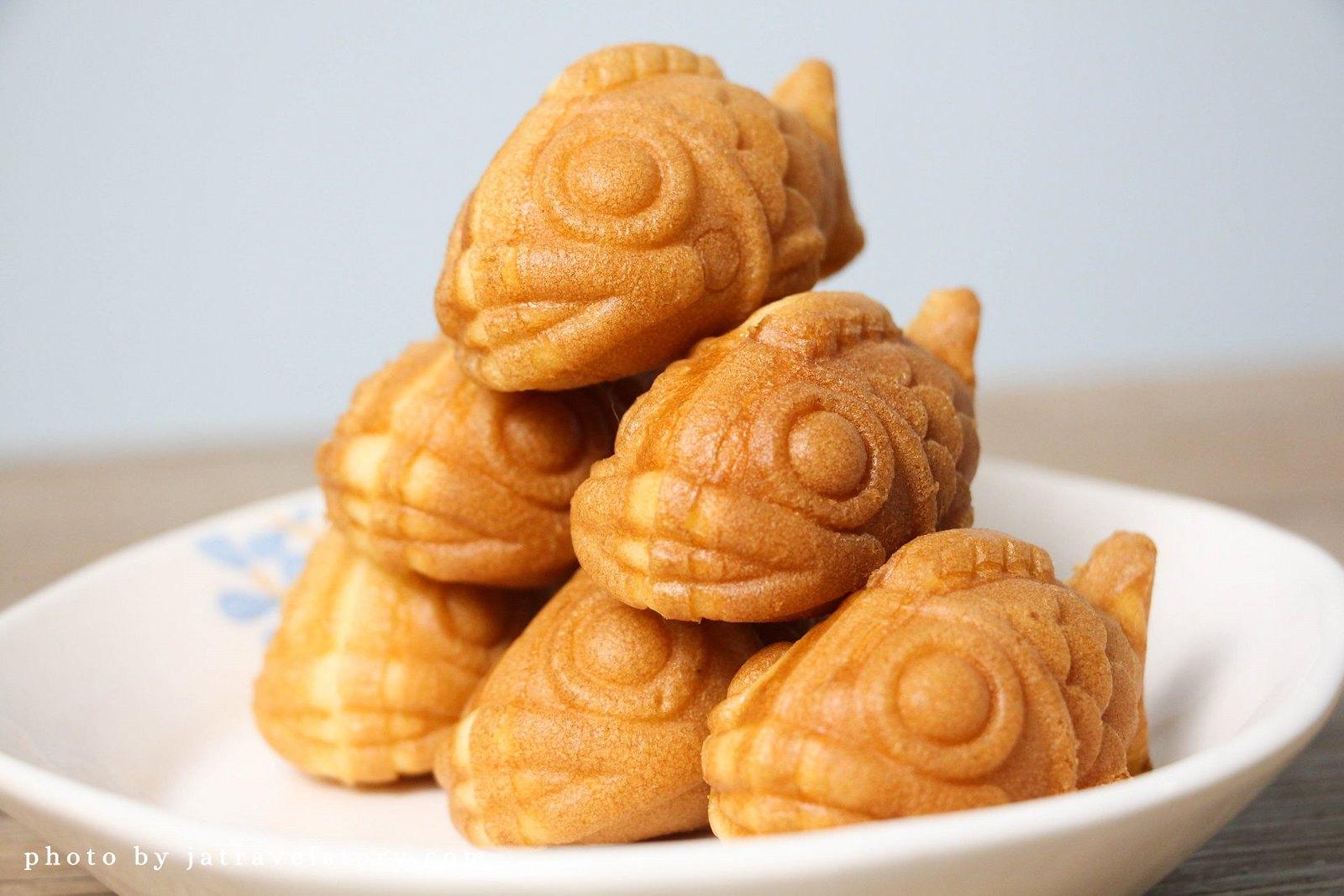 岩手鯛魚燒 (岩手燒) 小巧的迷你鯛魚燒好可愛!【中和美食/板橋美食】 @J&A的旅行