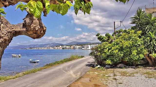 Insel Euböa / Evia - Nea Styra Ferry Harbour -