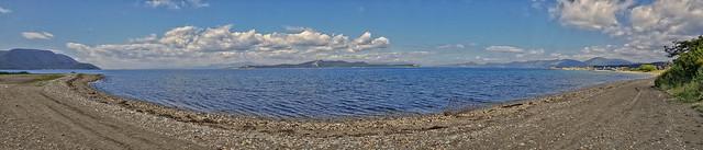 Panorama Insel Euböa / Evia - Nea Styra - Golf von Euböa