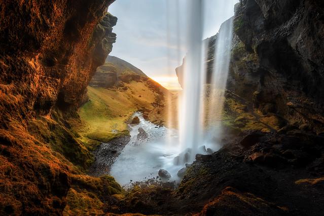 Sunlit Cavern