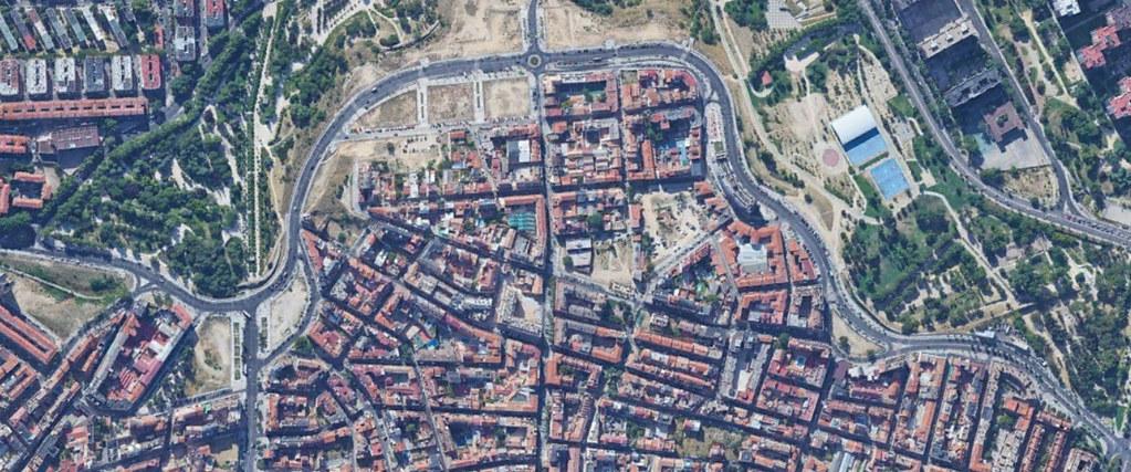 paseo de la dirección, madrid, florentinato, después, urbanismo, planeamiento, urbano, desastre, urbanístico, construcción, rotondas, carretera
