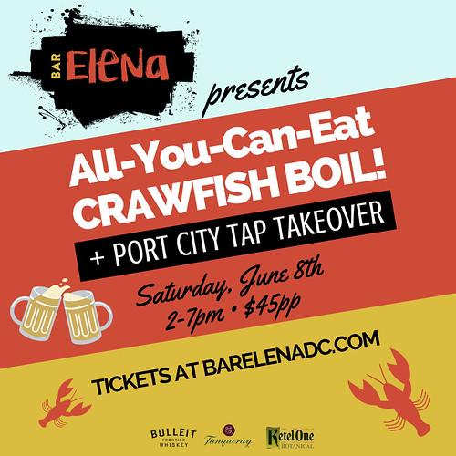 All You Can Eat Crawfish Boil Bar Elena June 8