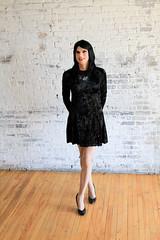 Velvet Dress 1