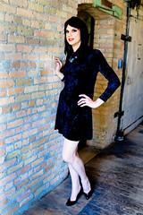Velvet Dress 3