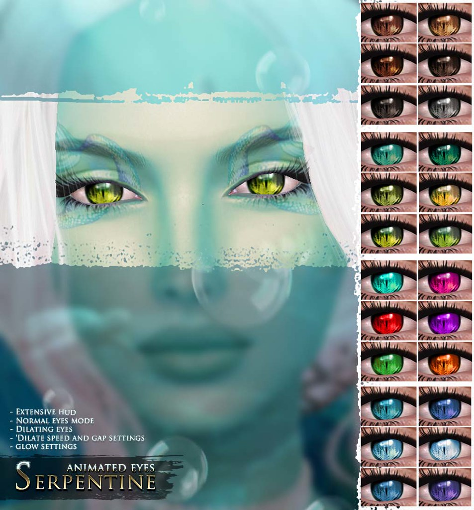 -Elemental- 'Serpentine' Animated Eyes Advert - TeleportHub.com Live!