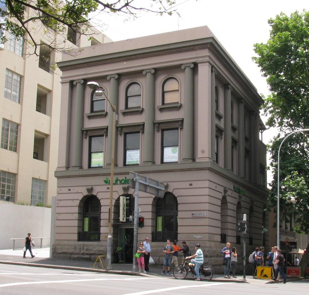 Ex Bank, Ultimo, Sydney, NSW.