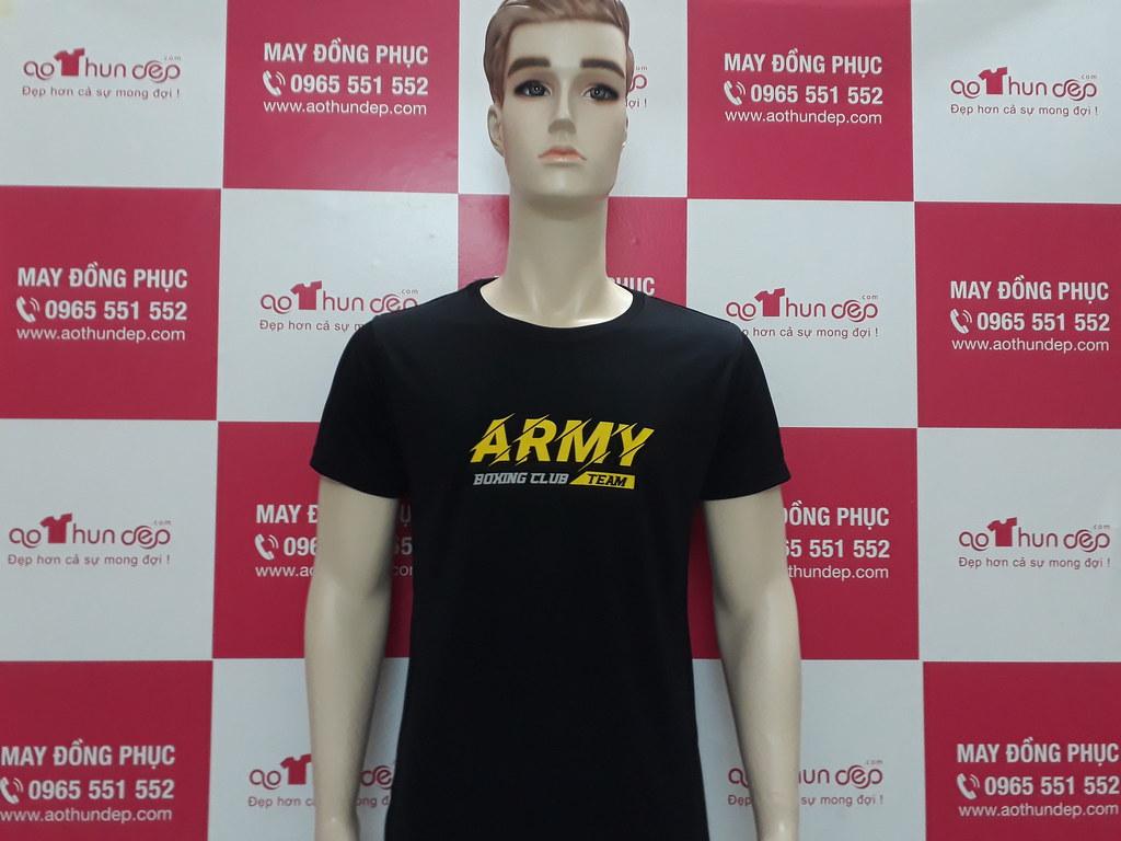 55 ÁO ARMY Màu đen