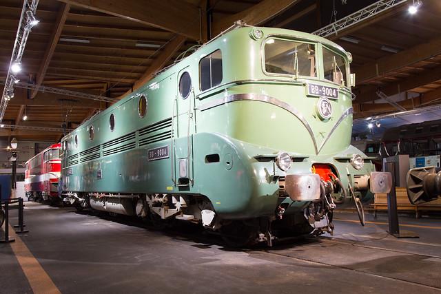 SNCF BB 9004 Cité du Train, Mulhouse