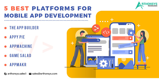 5-Best-Platforms-for-Mobile-App-Development