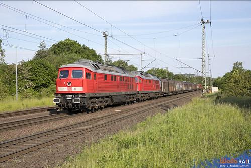 232 669 + 232 241 . DB Cargo . Wefensleben . 30.05.19.