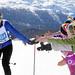 PONTRESINA, 12MAR17 - Hopp, hopp, hopp: Zahlreiche Zuschauer saeumen den Loipenrand, um ihre Liebsten anzufeuern. Impression vom 49. Engadin Skimarathon am 12. Maerz 2017.  Impression of the 49th Engadin Skimarathon, a cross country skiing race over 42 kilometres and more than 13'000 participants, in the Engadine Valley, Switzerland, March 12, 2017.   swiss-image.ch/Photo Andy Mettler