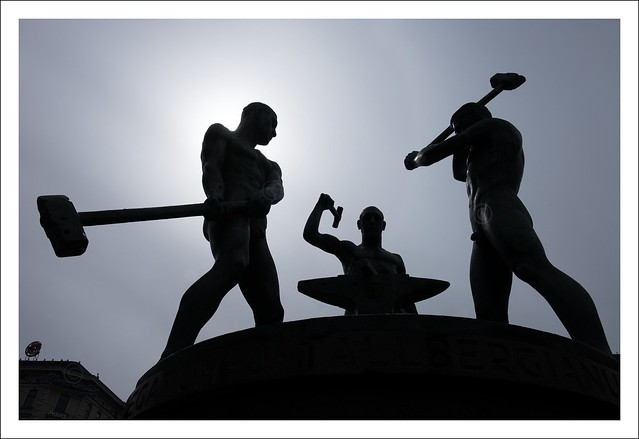 Three Blacksmiths