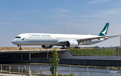 A350-10 B-LXA Cathay Pacific