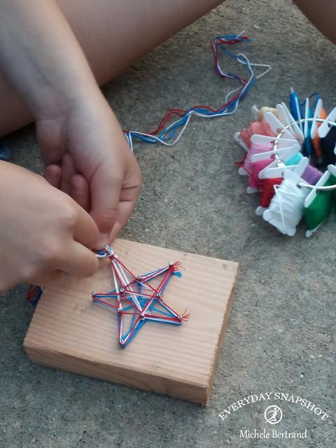 Star Nail String Art