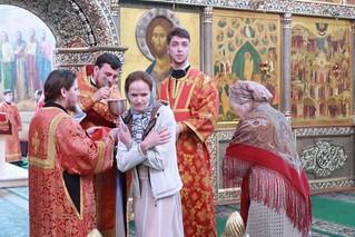 01.06.2019 | Божественная литургия в Иверском монастыре