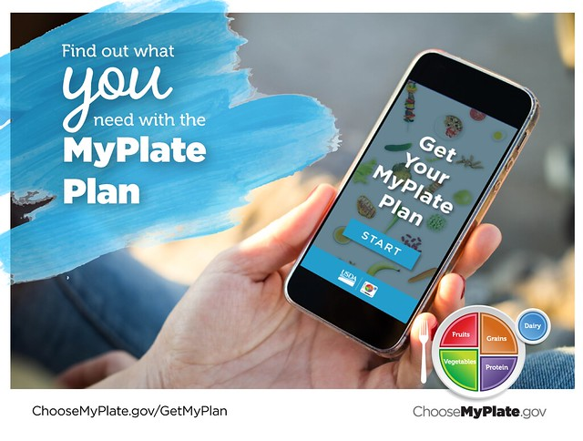 Get Your MyPlate Plan graphic