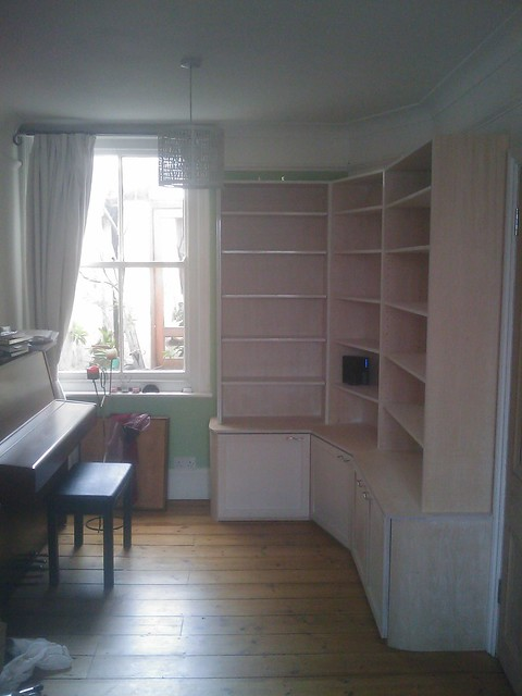 Wall Book Cabinet