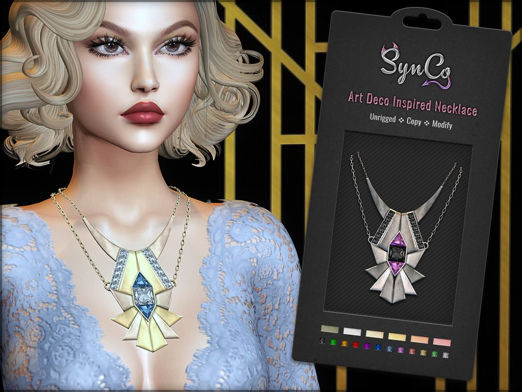 SynCo – Art Deco Inspired Necklace