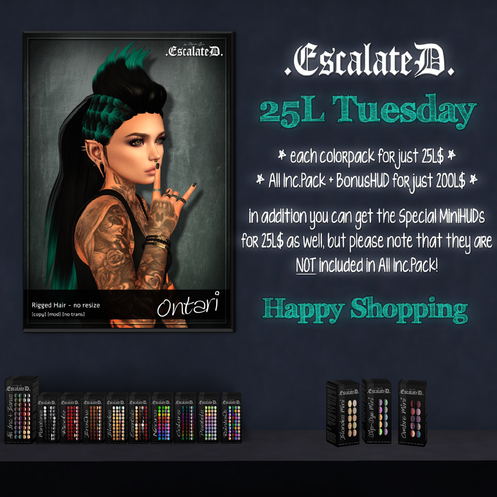 .EscalateD. | 25L Tuesday | 04.June.19 - TeleportHub.com Live!