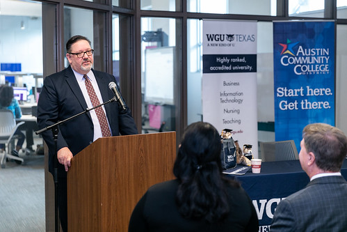 ACC and WGU Texas launch new partnership | Austin Community