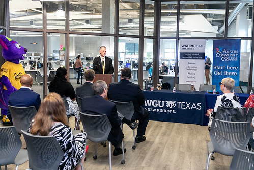 ACC and WGU Texas launch new partnership | Austin Community College