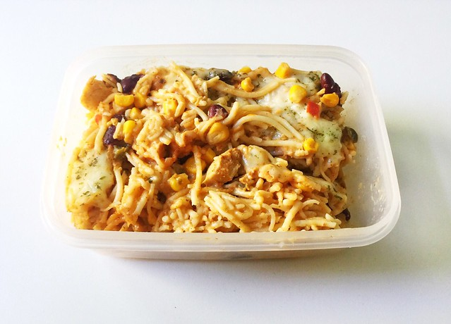 Chicken Spaghetti - the last remainings / Hähnchen Spaghetti - die letzten Reste