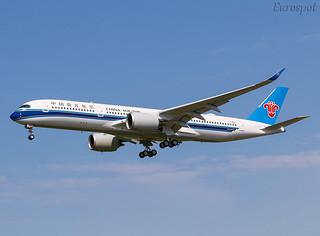 F-WZGP Airbus A350 China Southern