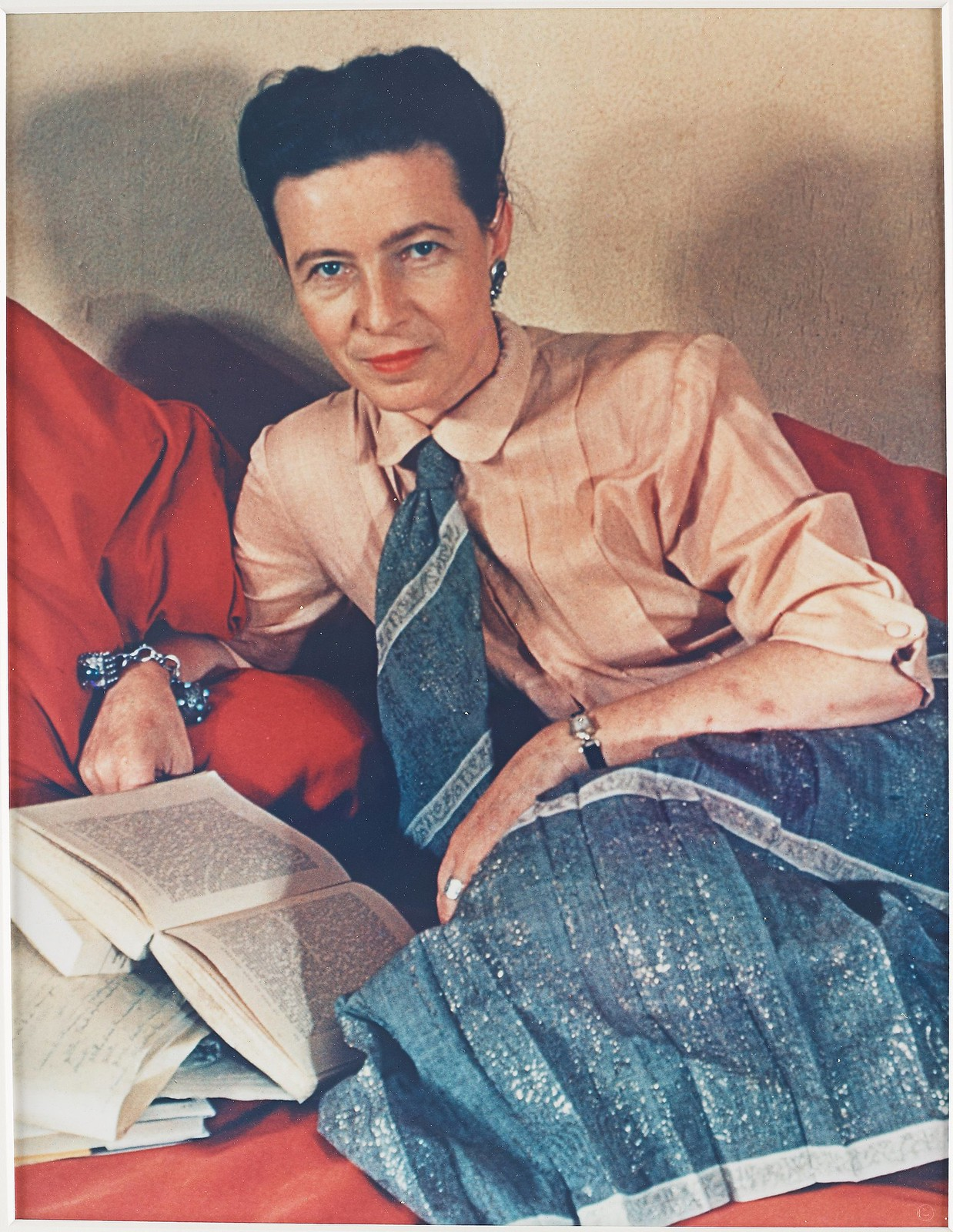 1939. Симона де Бовуар