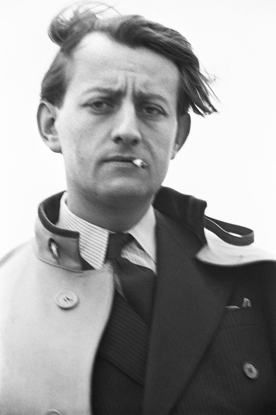 1935. Андре Мальро (французский писатель, культуролог, герой Французского Сопротивления, идеолог Пятой республики, министр культуры в правительстве де Голля)
