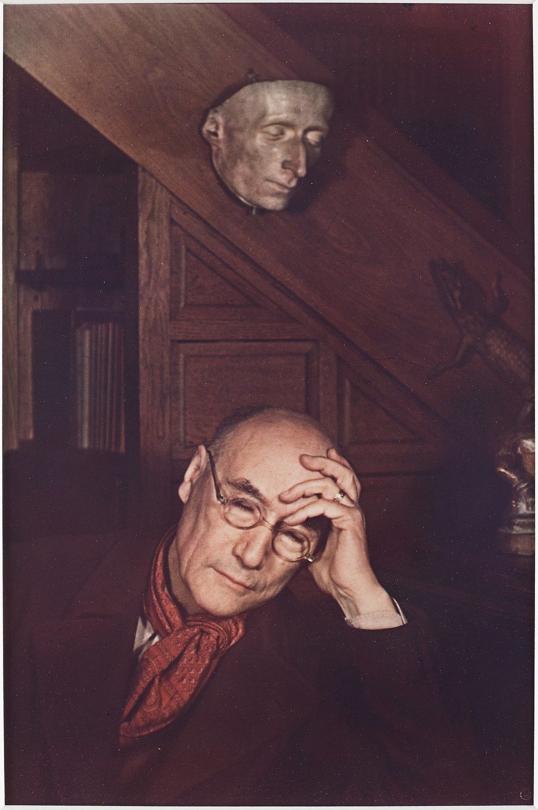 1939. Андре Жид (французский писатель, прозаик, драматург и эссеист, лауреат Нобелевской премии по литературе)