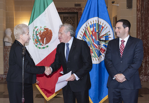 New Permanent Representative of Mexico Presents Credentials