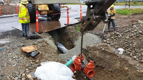 Highway 1 - Lower Lynn Improvements Projects - Construction