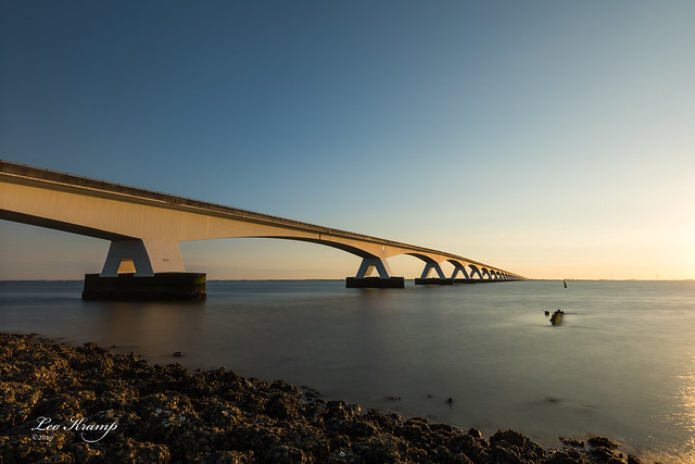 Zeelandbrug at sunrise #5