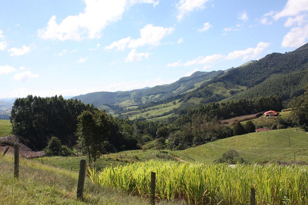 Paisagem da Serra da Mantiqueira