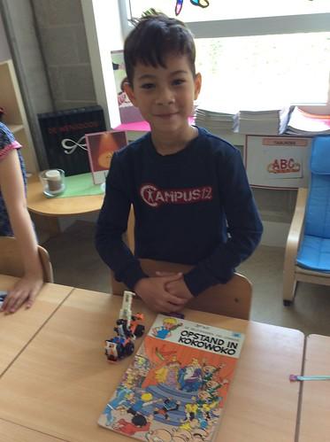 1e Leerjaar: Even gids in ons klasmuseum